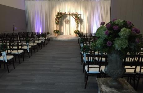 Davidson-Gundy Alumni Center Ballroom  Wedding Ceremony