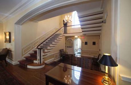 Glenview Entrance Hall and Grand Staircase