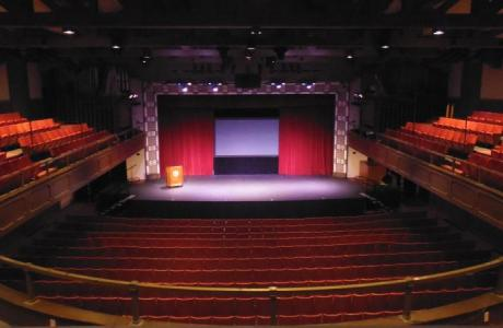 Historic Chapman Auditorium in Memorial Hall (Seats 950)