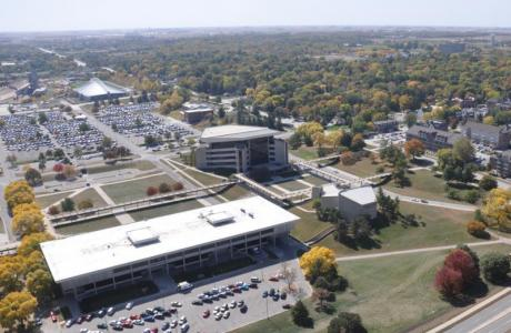 Iowa State Center Complex - 3 buildings - Scheman Conference Center, Fisher Theater, Stephens Auditorium