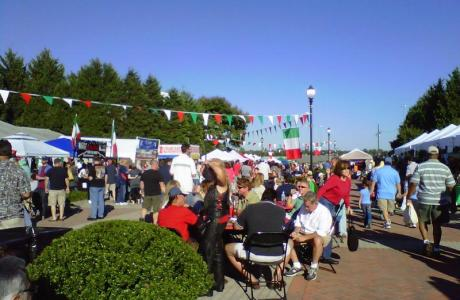 Italian Festival at the Richmond Raceway Complex's Horticulture Garden and Pavilion