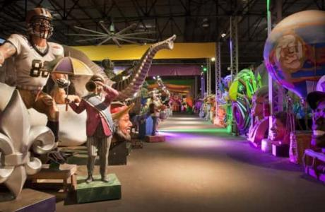 Mardi Gras World Float Den