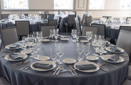 Standard Linen, China, Glass and flatware