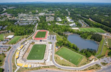Aerial View of the KSU Sports & Entertainment Park