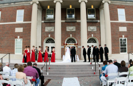 Spaces for outdoor weddings...