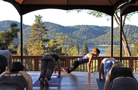 Yoga on the Zen Deck