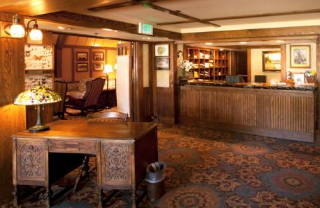 Main Lodge Front Desk