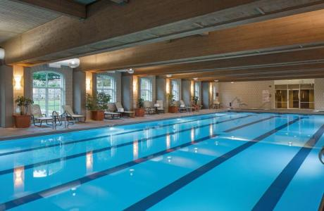 Olympic-sized indoor pool at Lied