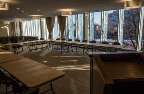 Breakout rooms; basic AV and wireless internet included