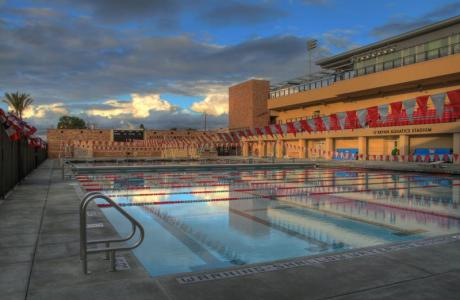 Allred Aquatics Center featuring Olympic Pool