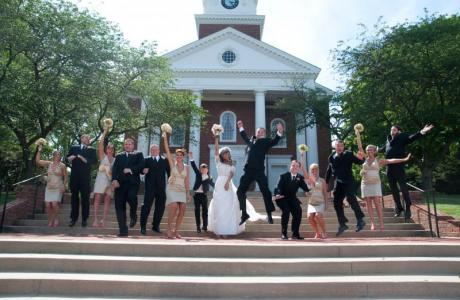 Weddings and more are always in store at the Memorial Chapel.