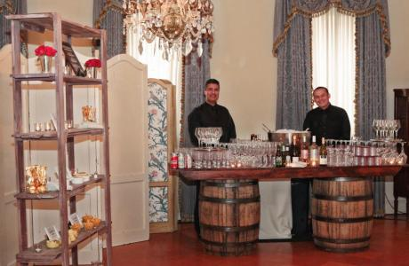 Beautiful Alcoves in the Ballroom Great for Bar Set-up