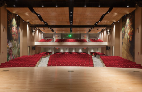 Ecolab Auditorium Viewed from the Stage