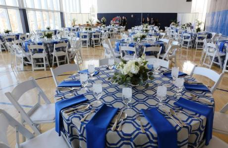 O'Keefe Center banquet set-up