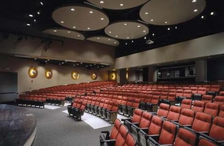 Coffman Memorial Union Theatre, seating capacity 402