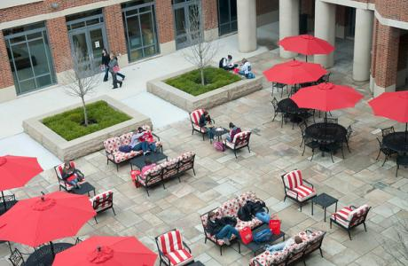 Potter Plaza Outdoor Event Space
