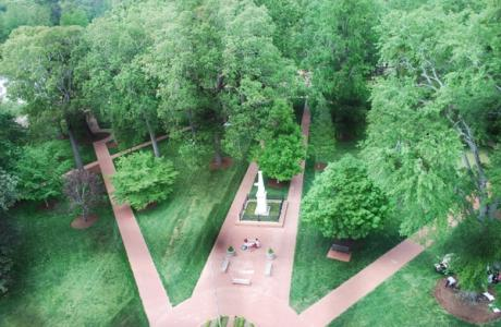 Oxford College Quad - aerial view