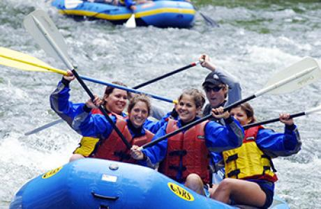 Outdoor Adventures: White Water Rafting