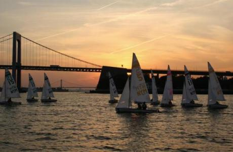 Sailing in the East River