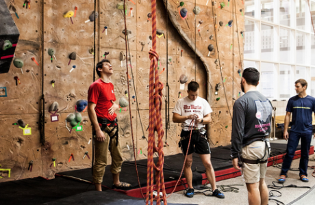 Recreation Center - Rock Climbing Wall