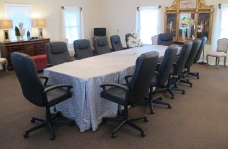 Another option for meeting space - The Studio with conference room