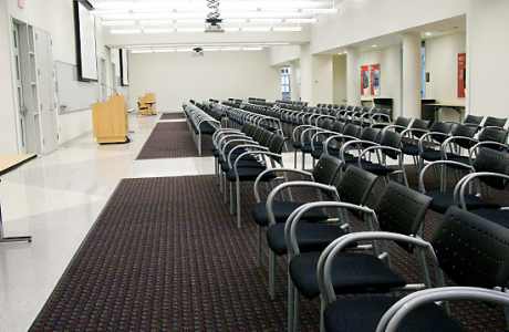 TUC meeting space, includes integrated AV