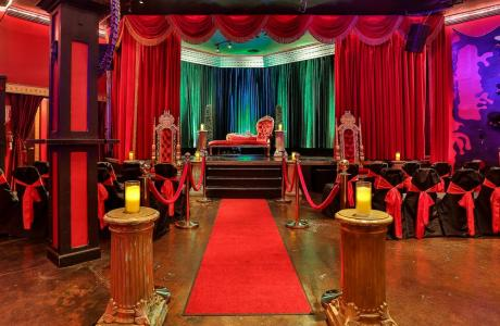 Dallas Wedding Venue - Our Wizard of Oz Stage