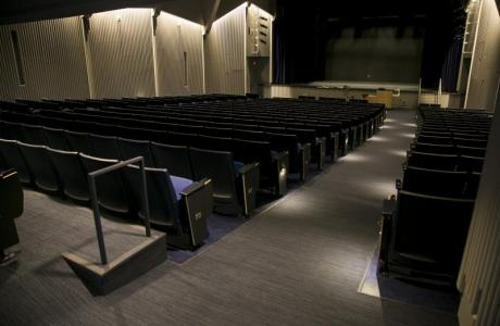 Cohen Auditorium is our biggest auditorium on campus
