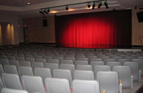 Student Union theater is an exceptional space for concerts, plays, ceremonies.