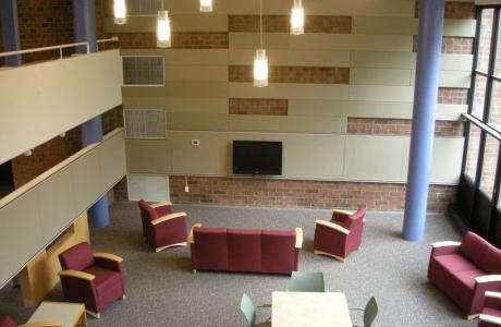 South Campus Residence Hall - Lounge