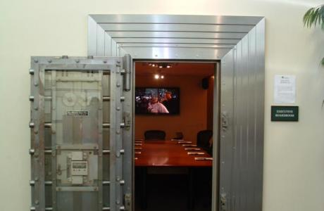 Unique Boardroom Bank Vault door