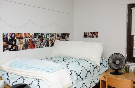 Viking Hall resident room