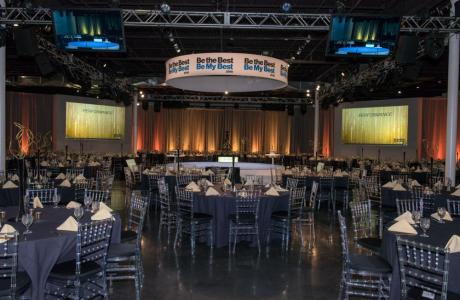 Our 20,000 sq. ft space transformed for a large conference