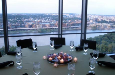 Imagine overlooking Georgetown from the 24th floor