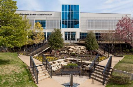 The Armand-Hammer Center was designed for food, fun and fellowship