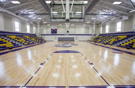 Indoor Athletic Facilities at Curry College