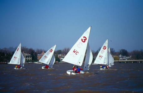 Sailing on the Chester River from the Waterfront