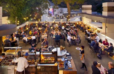 Backyard at the Bowl - Full Service Restaurant during Concert... Special Event Space Before or After Concerts and Non-Show Days
