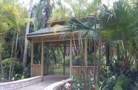 Botanical Gardens gazebo - unique option for lunch, wedding, and more