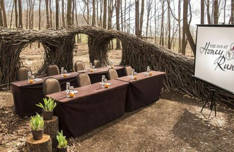 Open Air Art Museum turned Meeting Space