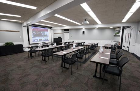 Rutgers University Inn Conference Room with AV System