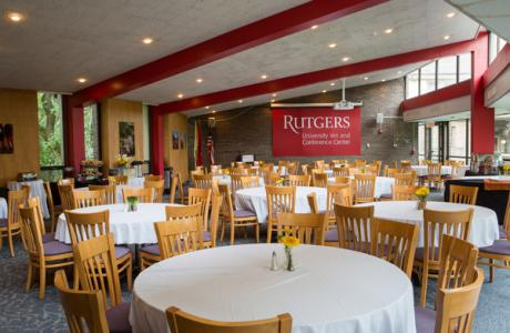 Rutgers University Inn Dining Room - Seating View