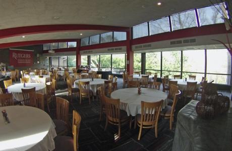 Rutgers University Inn Dining Room - Window Wall