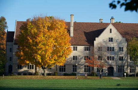 Autumn on our Residential Quad