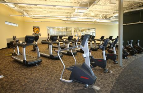 Adam F. Press Fitness Center is available for conference guests over 16