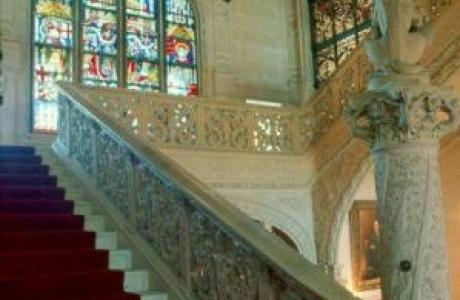 The Grand Staircase at Ochre Court