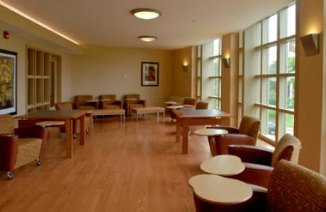 Residence Hall Lounge Space