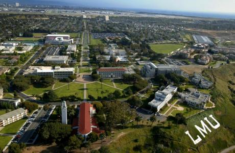 Loyola Marymount University - Aerial View