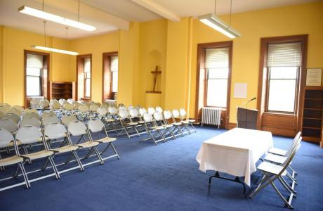Main Hall - classrooms perfect for meetings and special events