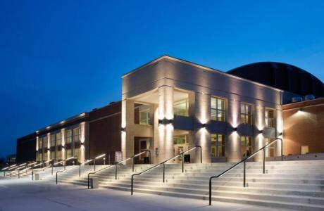 Goggin Ice Center - Exterior